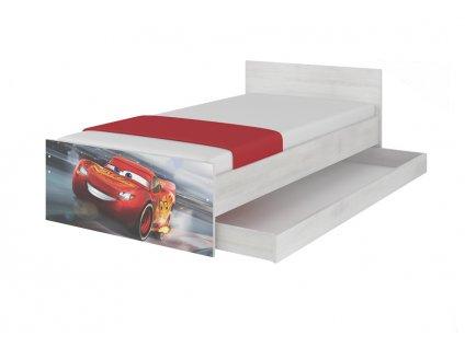 Detská posteľ Max XL 180x90 Cars 3 Mcqueen
