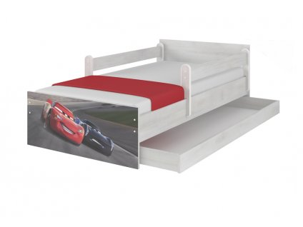 Cars 3 storm detská posteľ 180x90 XL Max