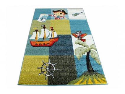 Koberec pre deti Mondo 01 piráti 133x190