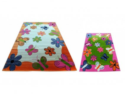 Koberec pre deti motýle 03 200x300 - viac farieb