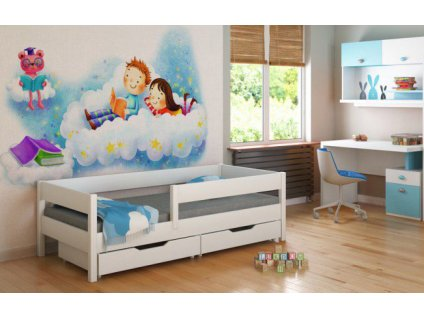 MIX 200x90 Biela detská posteľ