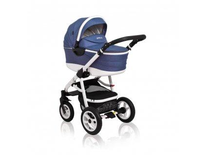 Kombinovaný kočík Aprilia Coto Baby 2v1 - JEANS LINEN