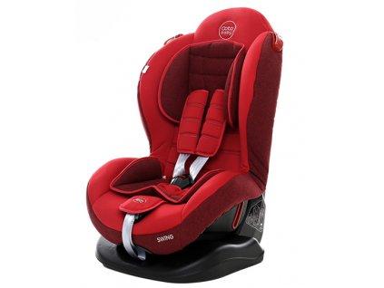 Červená autosedačka Coto Baby Swing 2018