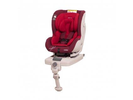 Bezpečné autosedačky Aurora Coto Baby - Červená