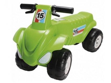 Odrážadlo zelená motorka