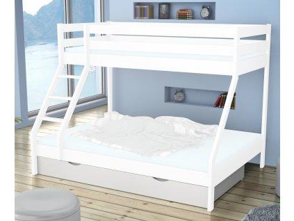 Úložný box pre posteľ Mikael - biely