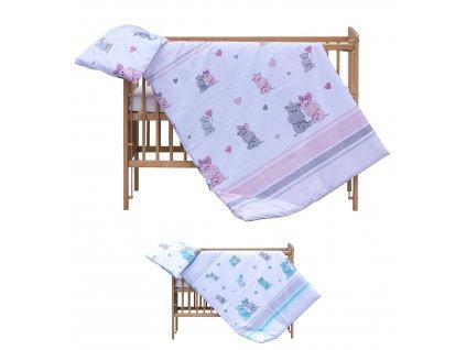 Detské obliečky Pupi 120x90 - 2 dielne