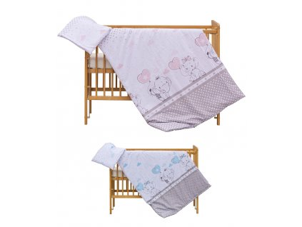Detské obliečky Gusto 120x90 - 2 dielne