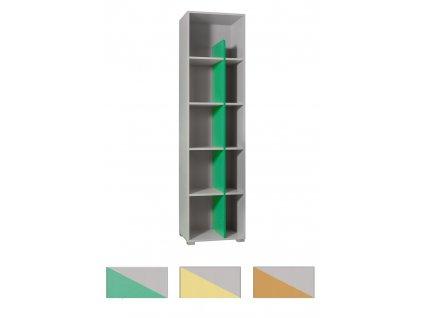 Otvorený regál TANIA Y11 - viac farieb