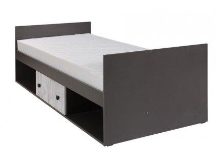 Jednolôžková posteľ Larix 20 - 200x90 cm
