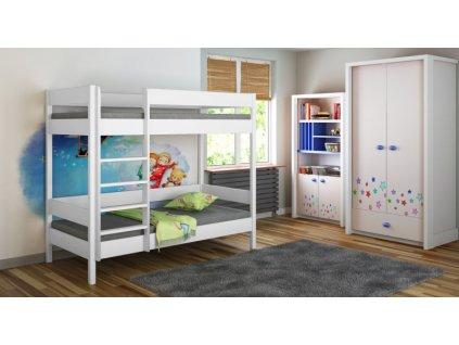 Diego Pred poschodová posteľ 140x70 - viac farieb