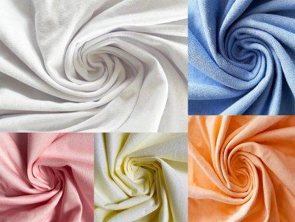 Nepriepustná plachta Tencel 120x60 - viac farieb