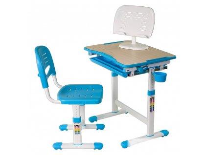 Rastúci stôl pre deti Pikolo - Modrý