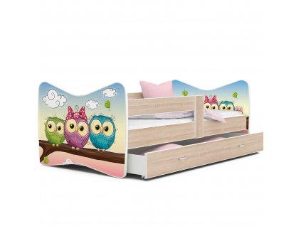 Detská posteľ Tomášek Sovičky č.59