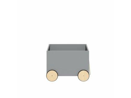 Box na hračky JULKO sivá