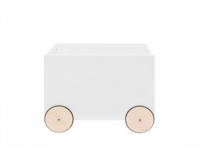 Box na hračky JULKO biely