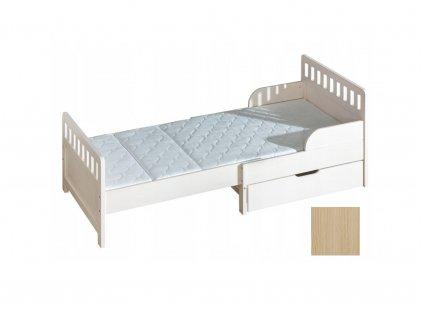 Rastúca detská posteľ OGI biela