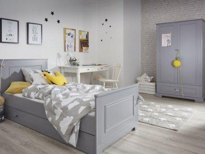Detská izba BELLA sivá