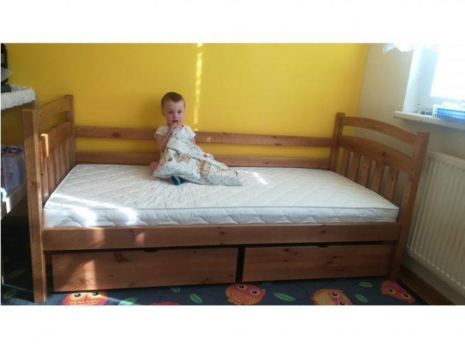 Detská posteľ Lpo 001  200x90
