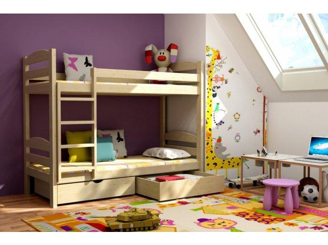 Poschodová posteľ Lp 004 200x90