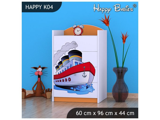 Komoda Happy Orange K04