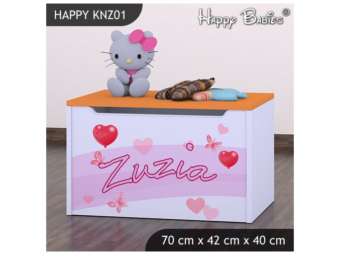 Truhlica Happy Orange KNZ01