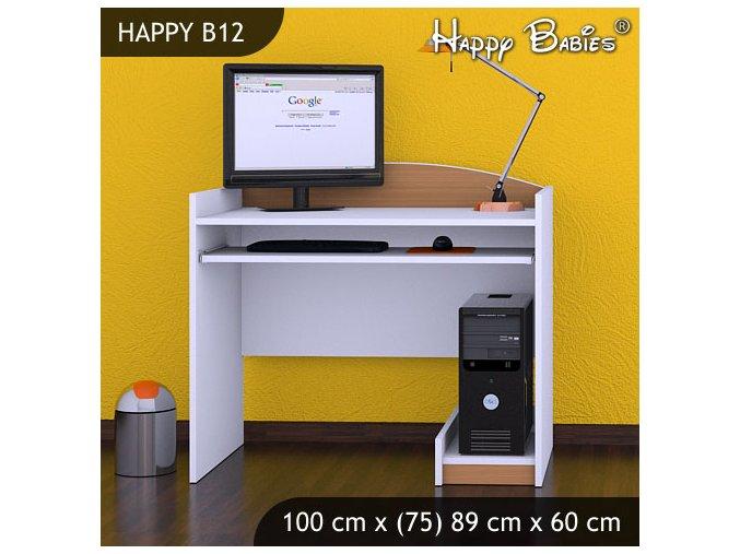 Písací stôl Happy Buk B12