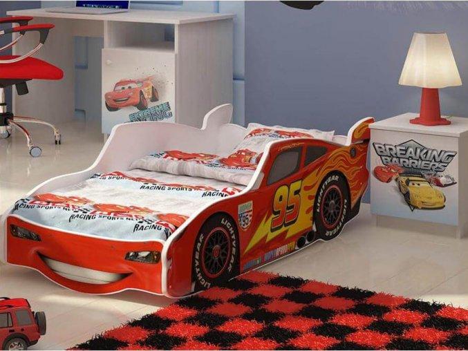 McQueen 160x80 autoposteľ