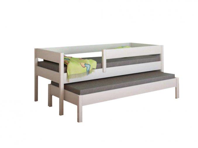 Junior 160x80 posteľ s prístelkou - viac farieb