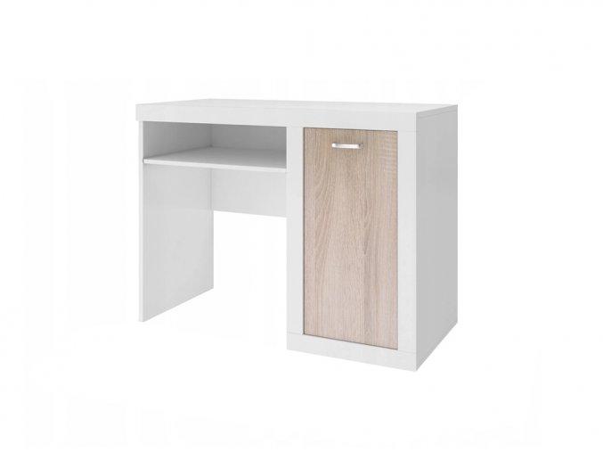 Filip písací stôl Dub sonoma bez motívu