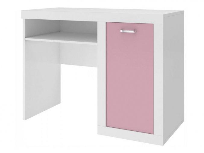 Filip Color písací stôl ružový