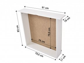 LPT 005 Poschodová posteľ s prístelkou 180x80