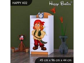 Komoda Happy Orange K02