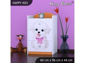 Komoda Happy Orange K03