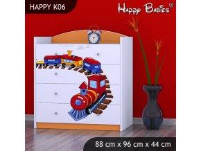 Komoda Happy Orange K06
