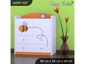 Komoda Happy Orange K07