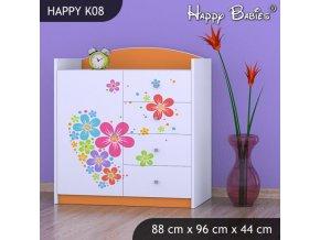 Komoda Happy Orange K08