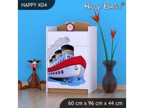 Komoda Happy Buk K04