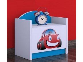 Nočný stolík Happy Modrý SZNO 02 všetky motívy