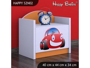 Nočný stolík Happy Orange SZNO 02 všetky motívy