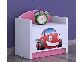 Nočný stolík Happy Pink SZNO 03 všetky motívy