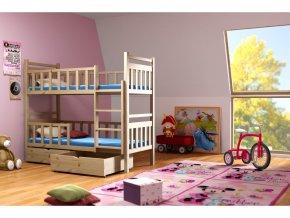 Poschodová posteľ Lp 009 200x90