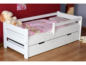 LTD F 180x80 Biela detská posteľ