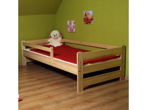 LTD F 180x80 Borovica detská posteľ