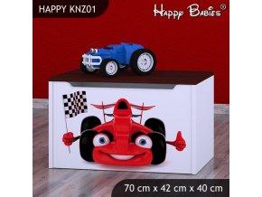 Truhlica Happy Gaštan KNZ01