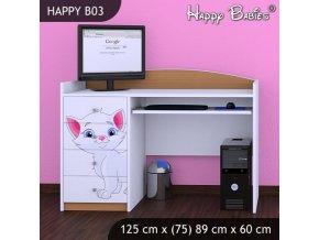 Písací stôl Happy Buk B03