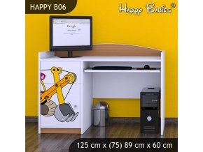Písací stôl Happy Buk B06