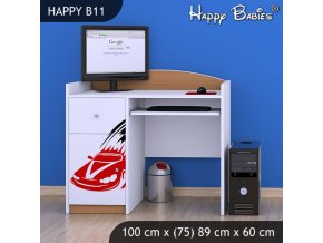 Písací stôl Happy Buk B11
