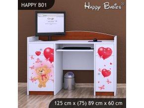 Písací stôl Happy Calvados B01