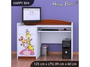Písací stôl Happy Calvados B04